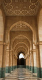 Archway at Hassan II mosque Stock Photos