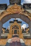 Archway i schodki przy Chedi Hin Sai, kompleks piaskowcowi stupas przypomina Borobudur przy Wata Pa Kung świątynią, Roi Et, Tajla Obrazy Stock