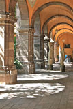 Archway inside Bellas Artes, San Miguel de Allende Stock Images