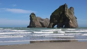 Archway Islands stock video