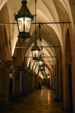Archway in Krakow. Archway on the mainsquare of Krakow royalty free stock images