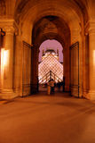 Archway in Louvre Stock Photography