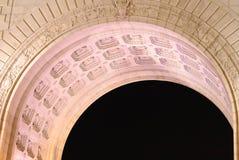 Archway of Manhattan Bridge Royalty Free Stock Image