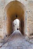 Archway, Mdina, Malta Stock Photography