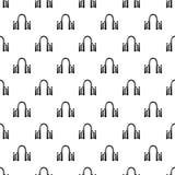 Archway metalu ikona, prosty czerń styl Obrazy Royalty Free