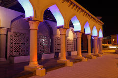 Archway na noite, Muscat fotos de stock royalty free