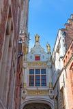 Archway nad Blinde Ezelstraat (Niewidoma osioł ulica) Zdjęcia Royalty Free