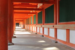 Archway in Nara, Japan Royalty Free Stock Image