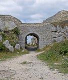 Archway nella pietra di Portland Fotografie Stock