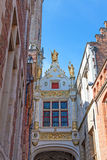 The archway over Blinde Ezelstraat (Blind Donkey Street) Royalty Free Stock Photos