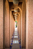 Archway perspective. With a dead end Royalty Free Stock Images
