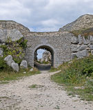 Archway in Portland Stone Stock Photos