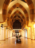 Archway at Porto Arabia in Doha Royalty Free Stock Photo