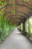 Archway in Privy Garden, Schonbrunn Palace Royalty Free Stock Images