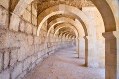 Archway przy amphitheatre zdjęcie royalty free