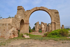 Archway Ruin Royalty Free Stock Photography