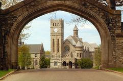 Archway, school Royalty Free Stock Images