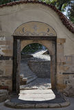Archway st. The Virgin Mary church Plovdiv Royalty Free Stock Image