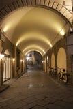 Archway of Street off Via dei Georgofili Street, Florence Stock Photos
