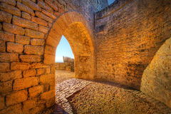 Archway to the Outside Royalty Free Stock Photo