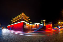 The Archway is a traditional piece of architecture and the emblem of the city of jianshui. Royalty Free Stock Photo