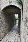 Archway, Trogir. Archway in the old city centre of Trogir, Croatia Stock Image