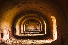 Archway velho com luz solar Imagem de Stock Royalty Free