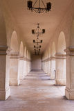 Archway in warm tones. Stock Photos