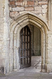 Archway in Wells Royalty Free Stock Image