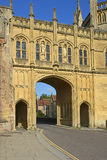 Archway at Wells Cathedral, Somerset, England Royalty Free Stock Image