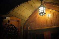 Archway z lampionem Obrazy Stock