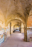 Archways and Benches Stock Image