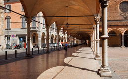 Bologna, Italy. An archways in Bologna. Italy Stock Images