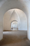 Archways in Castillo San Cristobal Stock Photos