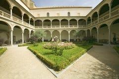 Archways and center garden Toledo, Spain Stock Photos