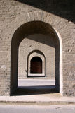 Archways do tijolo Imagem de Stock