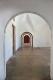 Archways and Doors in Castillo San Cristobal Royalty Free Stock Photo