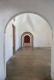 Archways i drzwi w Castillo San Cristobal Zdjęcie Royalty Free