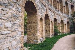Archways na Ruinenberg w Potsdam obrazy royalty free