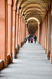 Archways of San Luca in Bologna Royalty Free Stock Images
