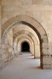 Archway - Sultanhani Caravanserai. Akseray, Cappadocia, Turkey Royalty Free Stock Photo