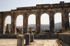 Archways of Volubilis 4 Stock Photo