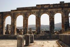 Archways of Volubilis 4 Stock Photo