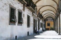 Archways w Florencja, Włochy obraz royalty free
