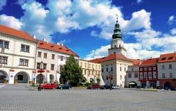 Arcibibishops城堡在Kromeriz,捷克 库存图片
