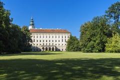 Arcibibishops Castle σε Kromeriz Στοκ φωτογραφία με δικαίωμα ελεύθερης χρήσης