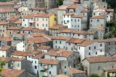 Arcidosso (Τοσκάνη, Ιταλία) Στοκ φωτογραφία με δικαίωμα ελεύθερης χρήσης