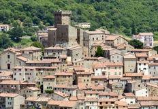 Arcidosso (Τοσκάνη, Ιταλία) Στοκ εικόνες με δικαίωμα ελεύθερης χρήσης