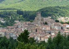 Arcidosso (Τοσκάνη, Ιταλία) Στοκ Εικόνες