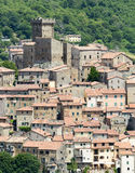 Arcidosso (Τοσκάνη, Ιταλία) Στοκ Φωτογραφίες